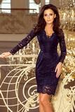 Dámske šaty Numoco 170-7 modré
