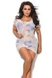 Dámske plážové šaty SP1 biele