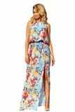 Dámske šaty Numoco 191-5 kvetované