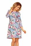 Dámske šaty Numoco 195-9 kvetované
