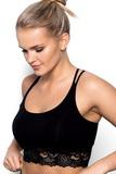 Fitness top Eldar Aurora čierny