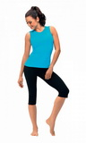 Fitness capri nohavice gWinner Gabi čierne