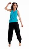 Fitness nohavice gWinner Electra čierne