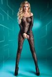 Erotické body LivCo Corsetti Abra čierne