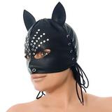 Mačacia maska s ozdobou