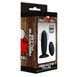 Vibračný análny kolík Crazy Bull Remote Plug