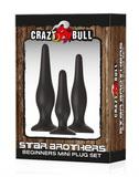 Súprava análnych kolíkov Crazy Bull Star Brothers